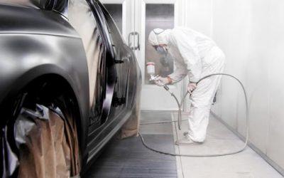 Comment changer la peinture d'une pièce de voiture ?